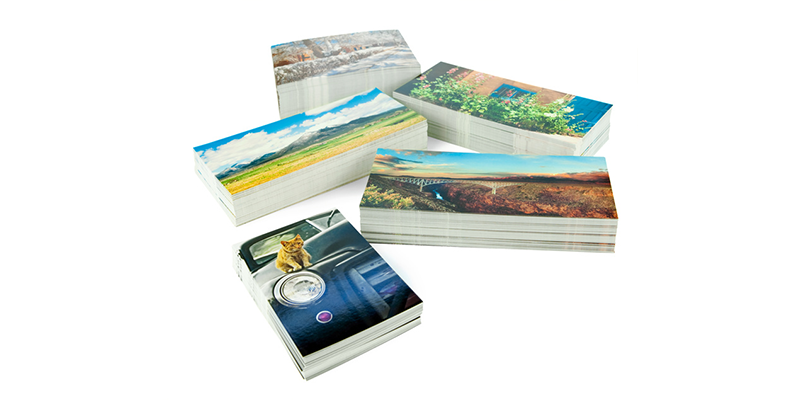 printed cards for advertising and marketing campaigns
