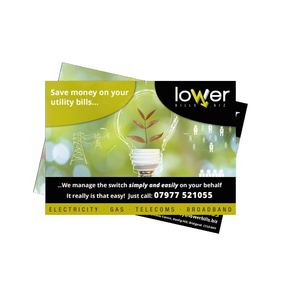 Lower Bills - A5 Leaflets